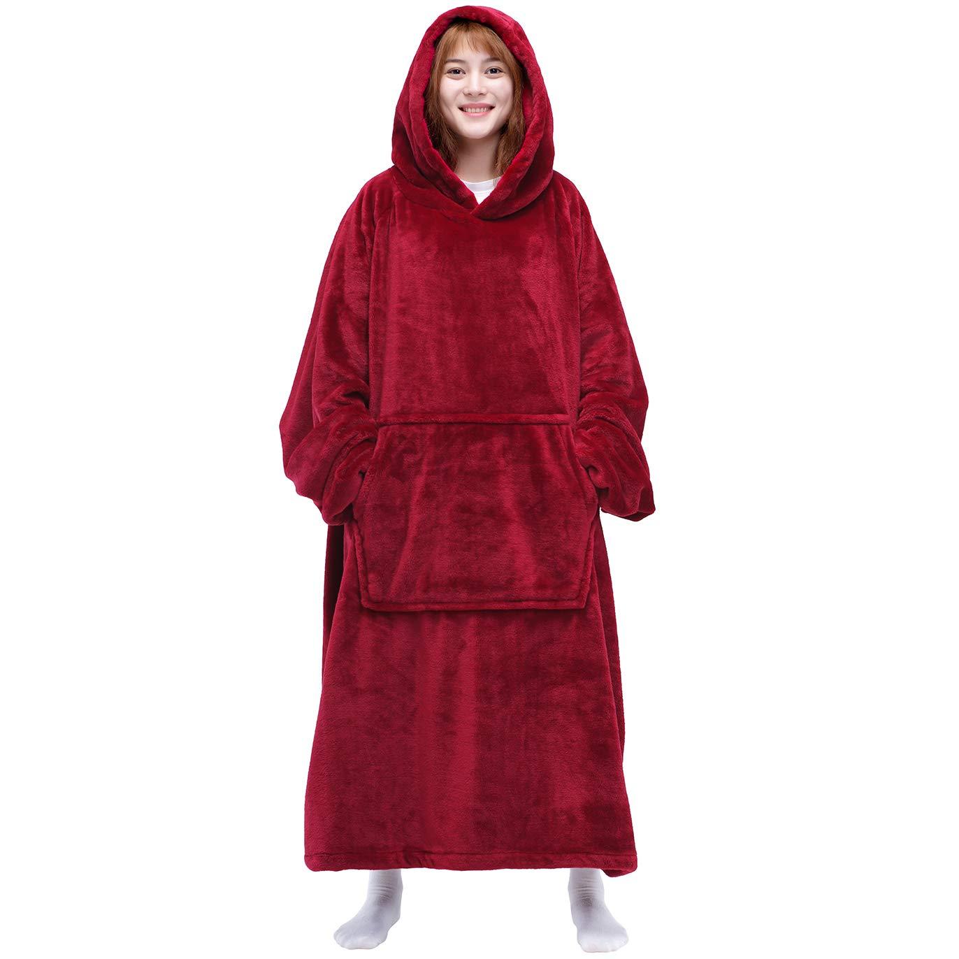 WEIFLY Hooded Blanket Supernatural British Men of Letters Ketch Super Soft Fleece Flannel Throw Blanket Hoodie Fit Bed Sofa Wearable for Kids Women Men 50X40