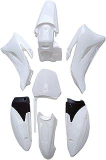 Bianco Gaetooely Ruota Anteriore nel Plastica per Protezione Parafango per CRF50 Dirt Pit Bike