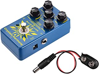 Muslady Crystals Harmony Digital Guitar Effect Pedal Creating Crystal Particles Single Effects Aural Dream
