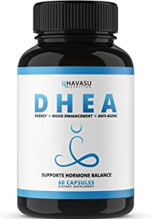 Havasu Nutrition DHEA 50mg Extra Strength Designed for Promoting Youthful Energy, Balance..