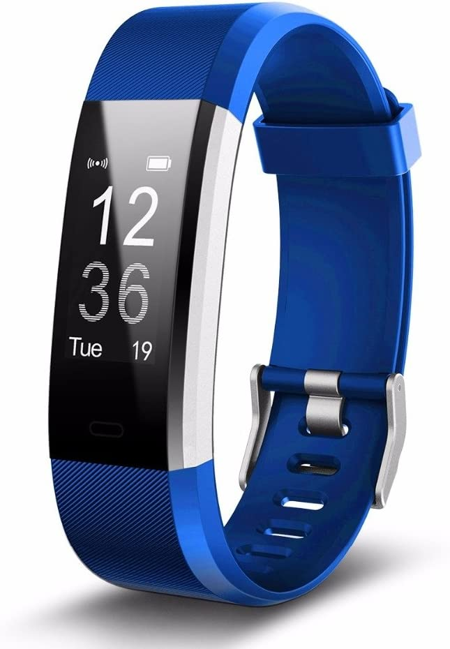 115 Plus Smartwatch Band Fitness Armband Sportuhr Schrittzähler für Android iOS