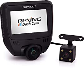 Sponsored Ad - Rexing V360 360 Degree Wide Angle Dual Channel Dashboard Camera Recorder Car Dash Cam with Rear Camera, G-S... photo