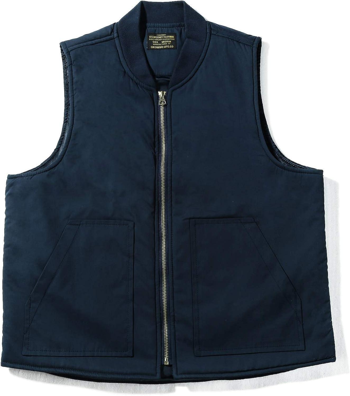 American Vintage, Outdoor Work Vest, Men, Thickened, Waterproof, Wool Fleece Laminated, Amekaji, Workwear Style,Casual Wear