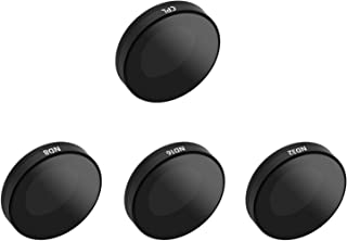 TELESIN 4-Pack Lens Filter ND8 ND16 ND32 CPL for Insta 360 One R 4K 1 Inch, Neutral Density and Polarizing Lens Filter Kit...