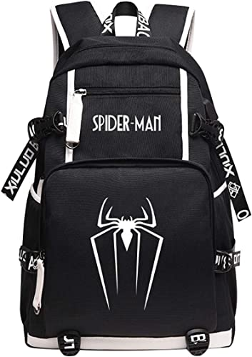 WNUVB Sac à Dos Avengers Spider-Man Heroes Expedition sacs Around Sac à Dos voituretoon Anime Venom Sac à Dos Guardian Mortel I-46  30  15CM