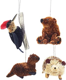 The Bridge Collection Woodland Animal Ornaments, Set of 4 Assorted