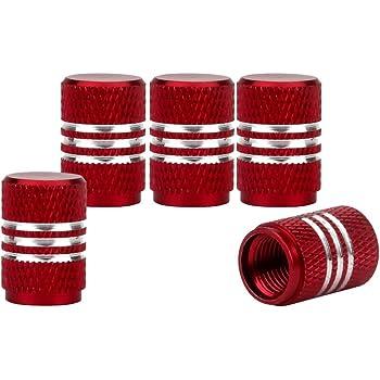 4pcs Bouchons de Valve Tige de Roue de Pneu Casquettes Anti Poussi/ère de Voiture pour Ford Focus St la D/écoration de Style de Voiture