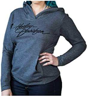 80ab56acb7a Harley-Davidson Women s Embellished H-D Script Clutch Pullover Hoodie