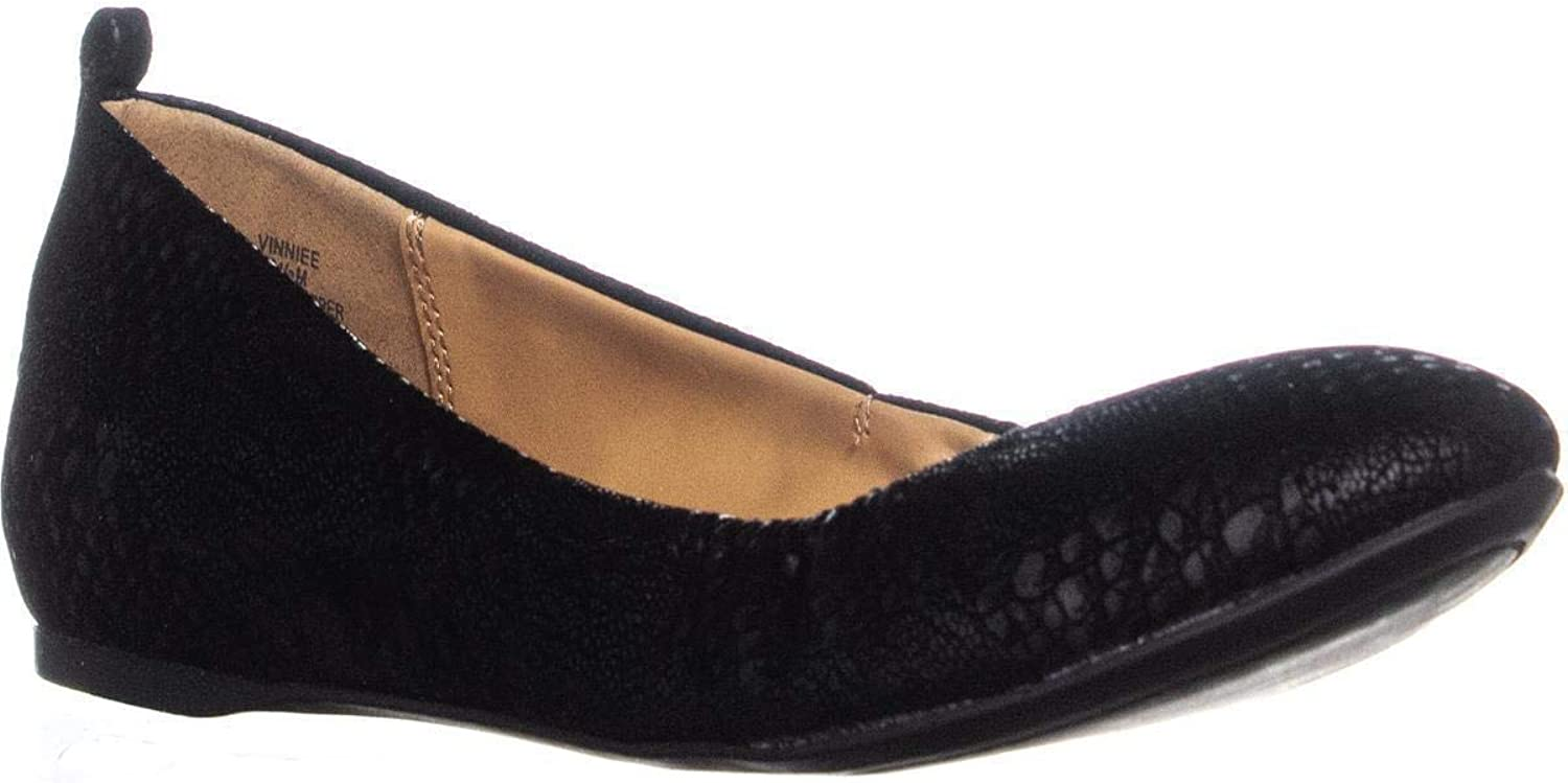 Style & Co. Womens Vinniee Round Toe Slide Flats