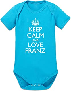 Shirtcity Keep Calm and Love Franz Baby Strampler by