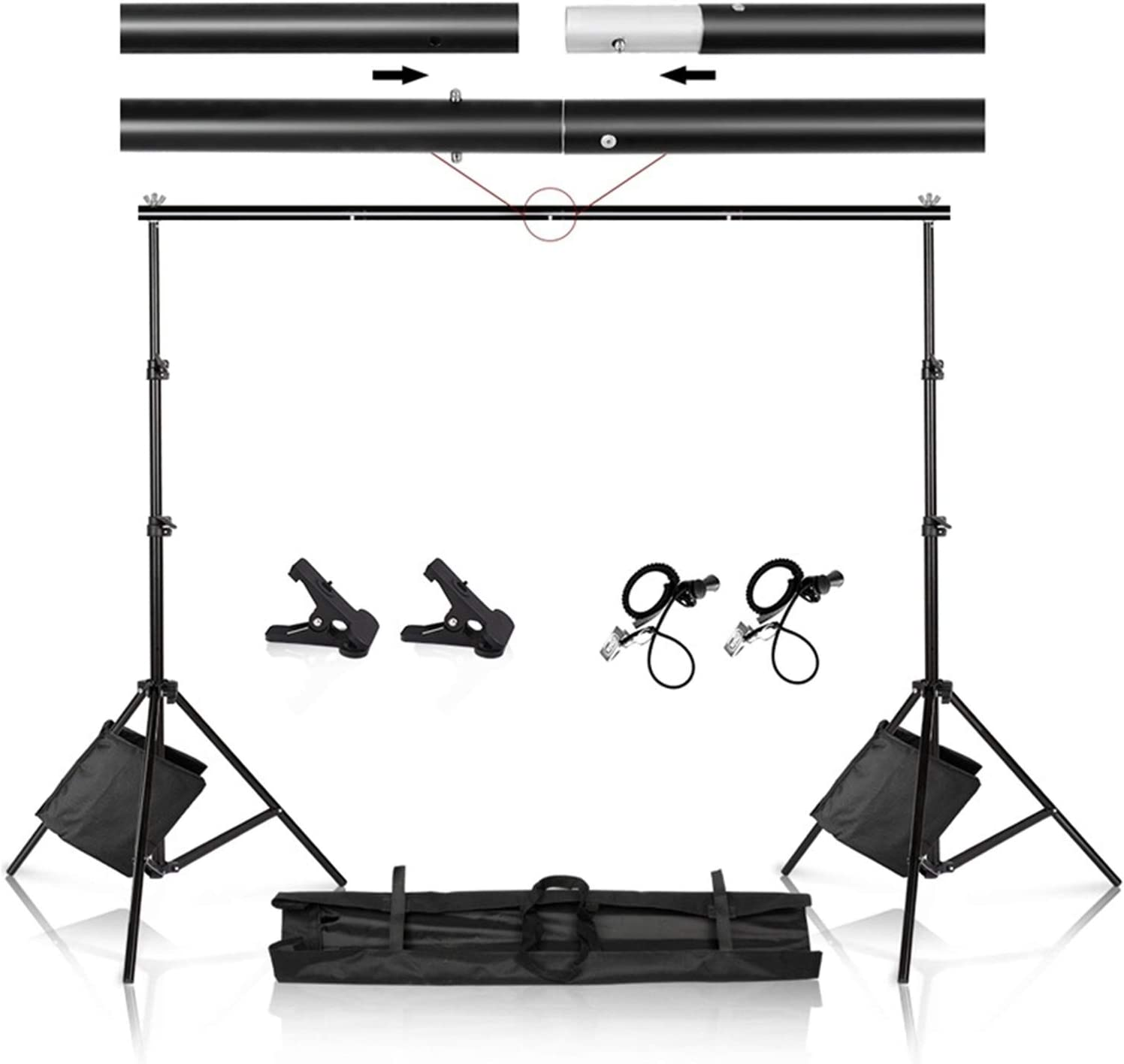 Zhice Photography Studio Photo Video B Stand Backdrop Frame Tall 2021new shipping free All stores are sold