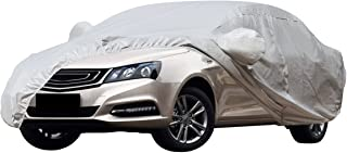 Audew Car Cover SUV Cover Waterproof /Windproof/Dustproof/Scratch Resistant Car Cover Sun Outdoor UV Protection Full Car Covers For SUV Car 185'' L