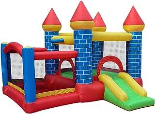 YBWEN Castillos hinchables Infantil Trampolín Inflable Castillo Castillo Inicio Travieso Interior y Exterior de Salto de Cama Castillo Inflable (Color : Azul, Size : 295×270×210cm)