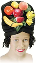 Bristol Novelty BH387 Fruit Hat and Hair, Multi-Colour, One Size