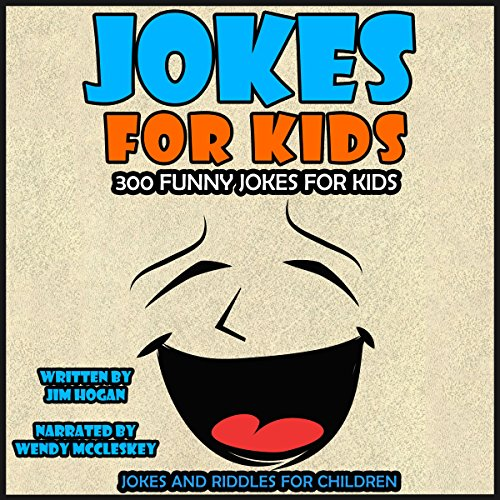 Jokes for Kids: 300 Funny Jokes for Kids cover art