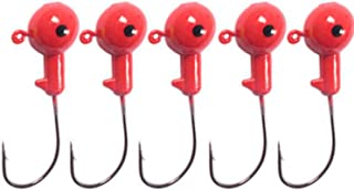 Colorful Lead Round Jig Head Fishing Lures Bait Hook Fish Tackle Fishing Hooks for Sea River Lake