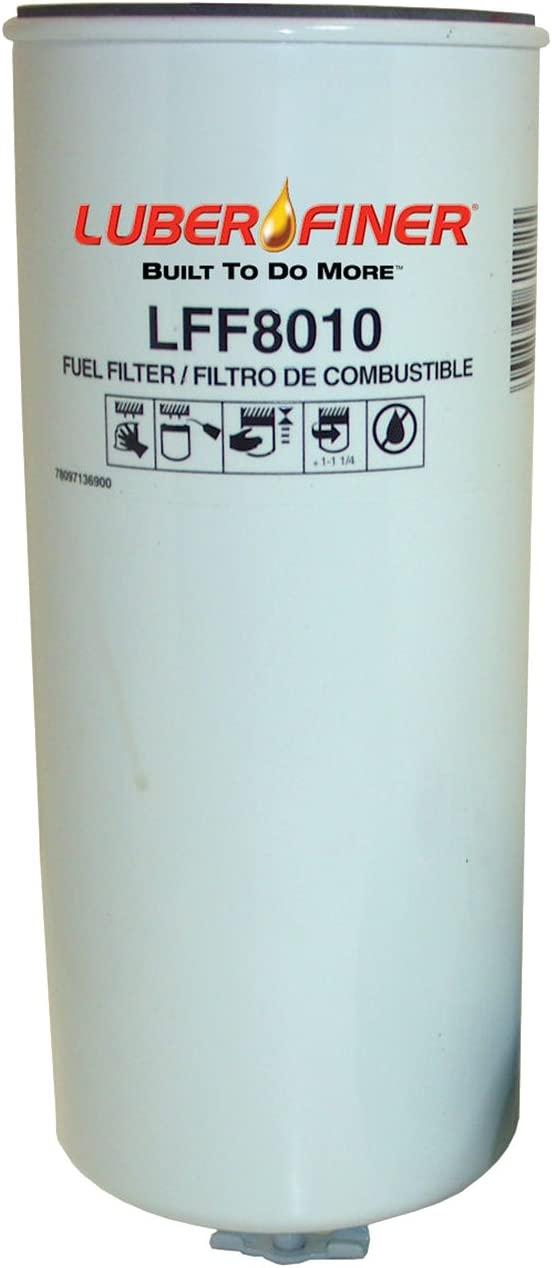 Luber-finer LFF8010-12PK Heavy Duty Filter Pack Fuel 12 新作 大人気 高額売筋