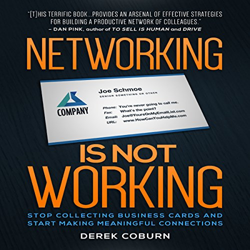 Networking Is Not Working audiobook cover art