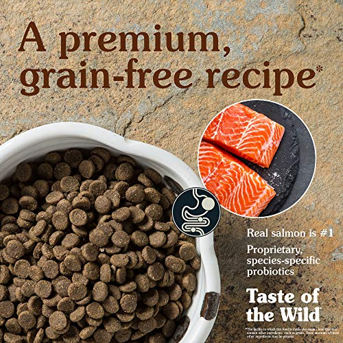 Dog | Taste of the Wild Pacific Stream Grain-Free Dry Dog Food with Smoked Salmon 28lb, Gym exercise ab workouts - shap2.com