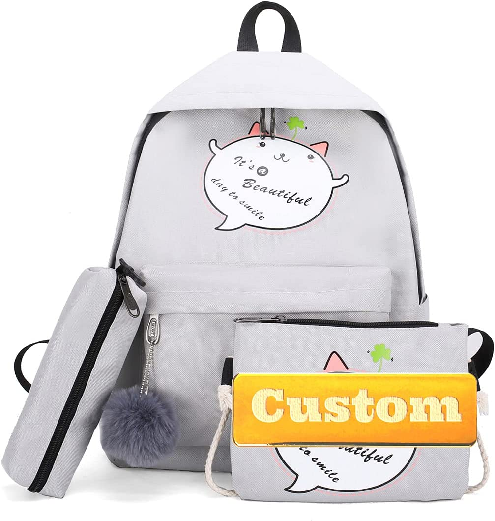 NANSHAN✅ Al sold out. Personalized Custom Name Child G Classic Backpack Bargain for