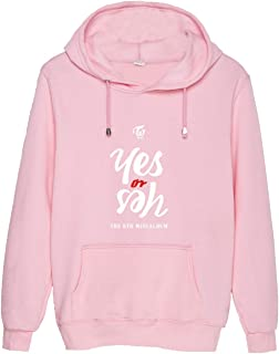 Kpop Twice YES OR YES Hoodie New Ablum Tzuyu Chaeyoung Mina Sweater Pollover Jacket