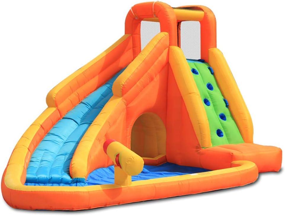 WRJY Niños Mega Parque acuático Inflable para niños con ...