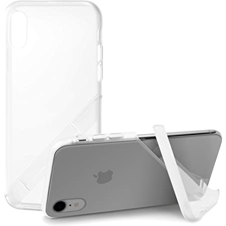 カンピーノ campino スマホケース iPhone XRケース クリアケース OLE stand スタンド機能 耐衝撃 スリム 薄型 クリア 透明