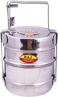 Raj Bombay Tiffin 10X2 - Bt0002 - Grey