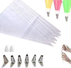 Cupcake Cake Decorating Bags Pastry Bag Piping Bag Disposable Cake Icing Decorating Piping Bags Set For Cake Decorating Re...