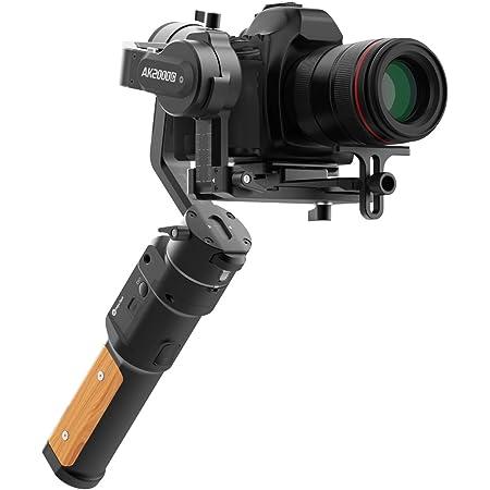 【国内正規品】 FeiyuTech AK2000C 一眼レフ/ミラーレス対応ジンバル 耐荷重2.2kg タッチディスプレイ SONY/Fujifilm/Canon/Nikon/Panasonic対応 【日本語説明書/国内保証1年】