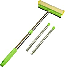 ITTAHO Multi-Use Window Squeegee, 2 in 1 Squeegee Window Cleaner with Long Extension..