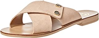 Dune London Londrina Di Sandal For Women, Nude, 36 EU