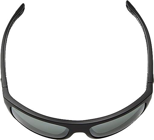 Gray Silver Mirror 580G/Matte Black Frame