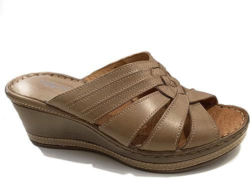 Melluso 01969 - Sandalias con plataforma para damas