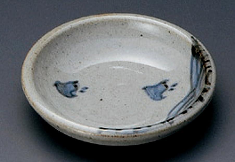 仕事お勧め奨励唐津千鳥 土物 9.5㎝ 小皿5枚セット 取皿やデザート、フルーツ皿として