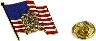 6030698 32nd Degree Scottish Rite Mason United States Flag Lapel Pin Masonic Blue Lodge