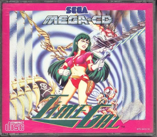 Time gal - MegaCD - PAL