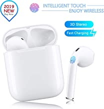 Bluetooth 5.0 Wireless Earbuds Noise Canceling 3D Stereo...