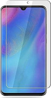 ELYCO för Alcatel 3X skärmskydd [2-pack] HD 2.5D skärmskydd i härdat glas [anti-rep/bubbla/fingeravtryck] skärmskydd för A...