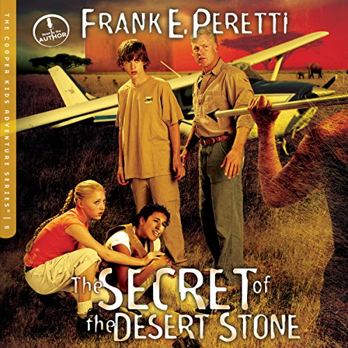 The Secret of the Desert Stone audiobook cover art