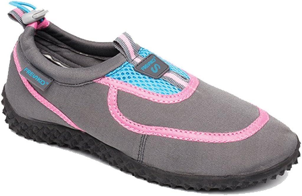 Fresko-Ladies Water Shoes Aque Socks Slip On