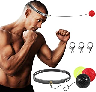 Boxing Fight Ball Reflex for Improving Speed Reactions and Hand Eye Coordination£¬Boxing Punch Equipment for Boxing, MMA a...