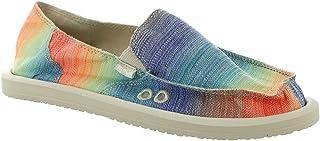 حذاء حريمي من Sanuk مطبوع عليه Donna shave Ice Loafer