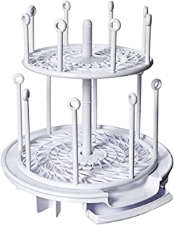 The First Years Spin Stack Drying Rack, Y1863A1 white