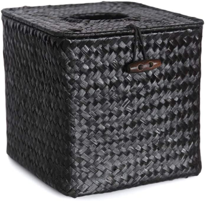 BESPORTBLE Year-end gift 1 Weekly update Pc Paper Seagrass Bo Handwoven Napkin Holder Tissue