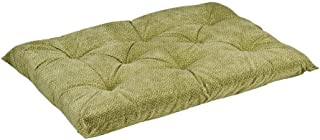 Bowsers Tufted Cushion, XX-Large, Green Apple Bones