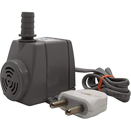 amiciTools Submersible Pump for Small Air Coolers, Aquarium, Fountains 9W Pump with 80cm Water Lift and 400L/H Flow