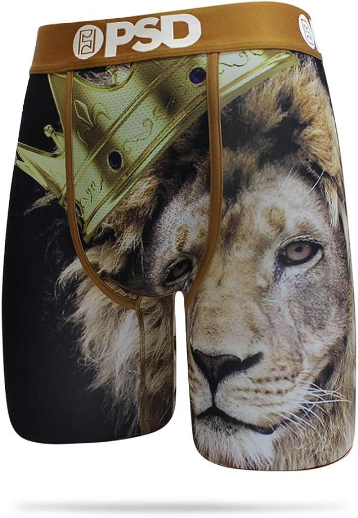 PSD Men's Brief Underwear Bottom (Gold/Lion King