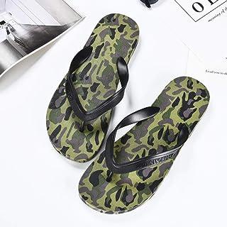 N-A Memory Foam Slippers voor heren, maat L, antislip, stoo? vaste strand-slippers met vlakke bodem, met nare flipflops - ...
