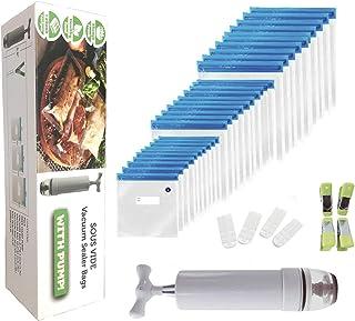 Sous vide bags Vacuum Sealed Bags 30 Reusable Sous Vide Bags, Suitable for Various sizes of Food Sous Vide Bags for Joule ...